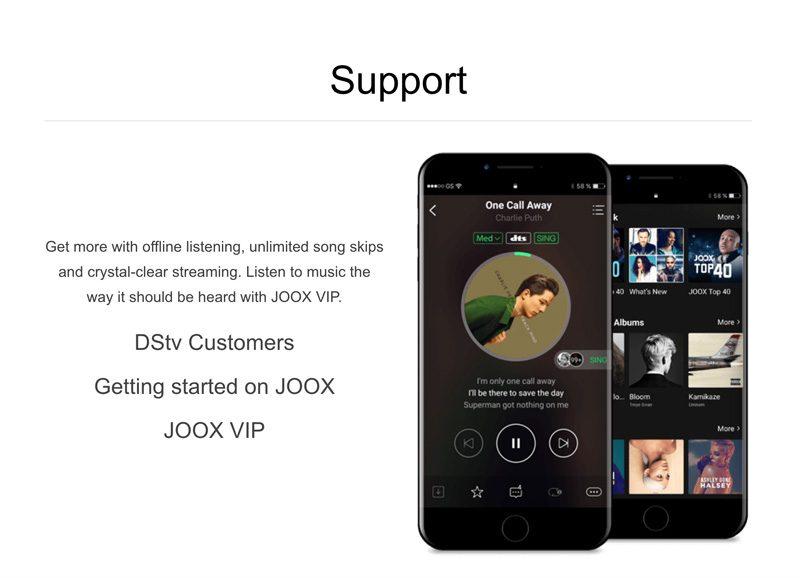 Screen Shot Sec Img2 Joox Music Portfolio Post The Website Engineer